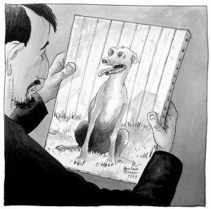 chien qui louche, bd, étienne davodeau, futuropolis, louvre