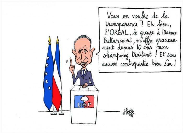 jean-françois copé, transparence, loréal