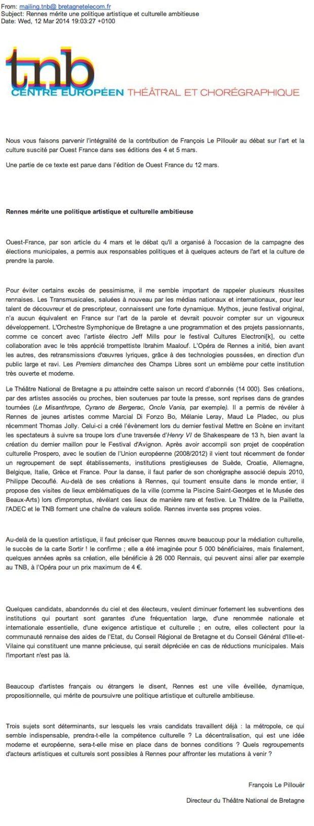 lettre, tnb, le pillouer, parti socialiste, nathalie appéré, ps