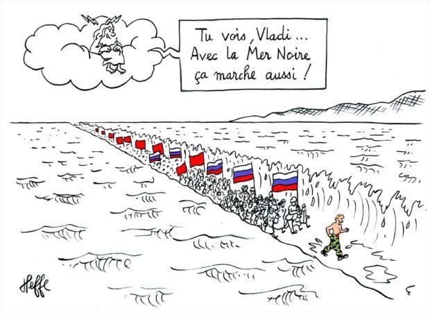 La Crimée entre Ukraine et Russie : tempête rouge en mer noire