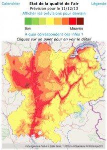 En Rhone Alpes, le chauffage au bois 1er responsable