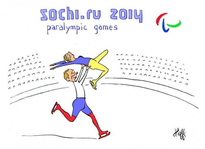 sotchi, jeux paralympiques, handicap, poutine