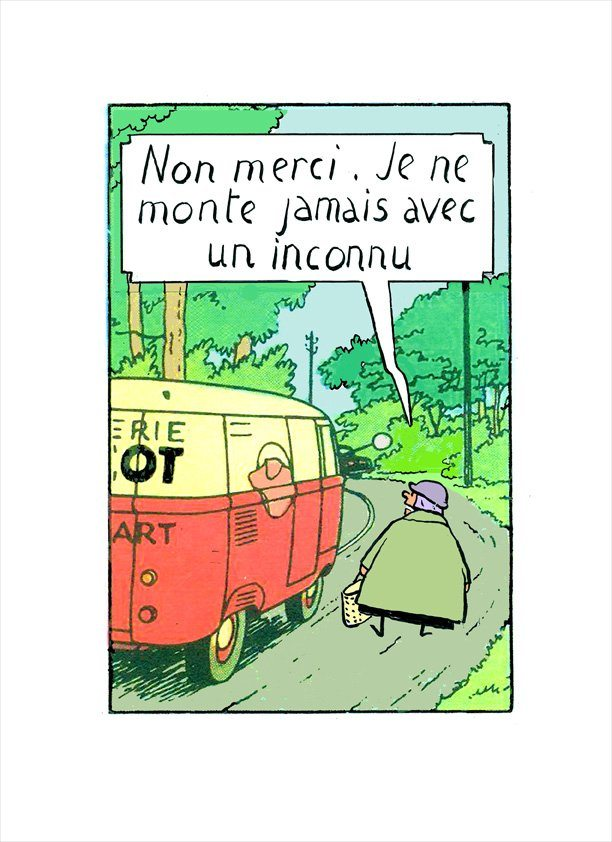affaire tournesol, hergé, sanzot