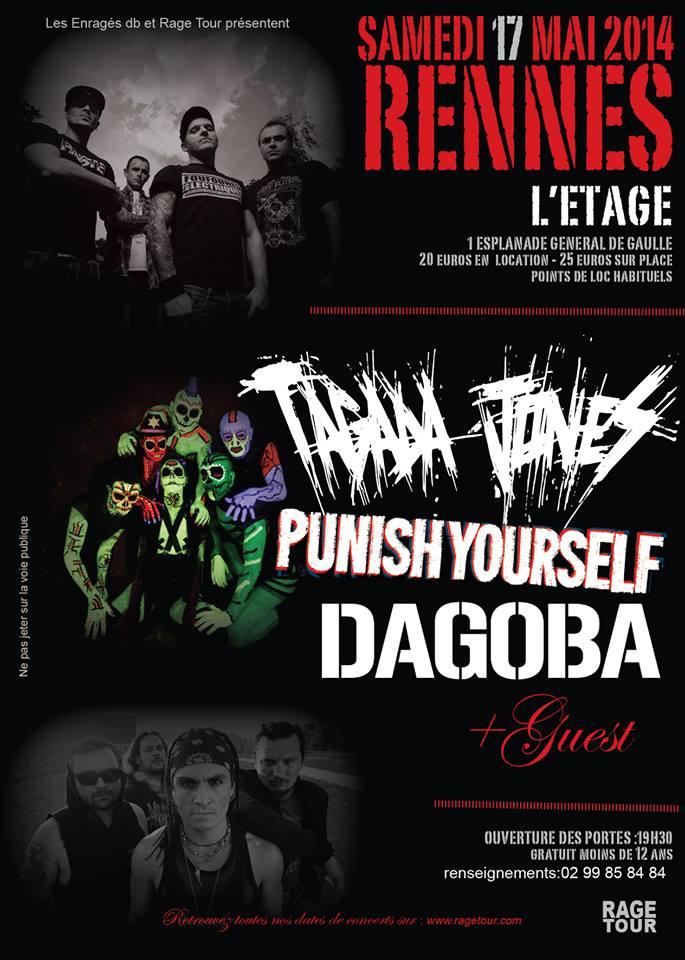 Rennes, Tagada Jones