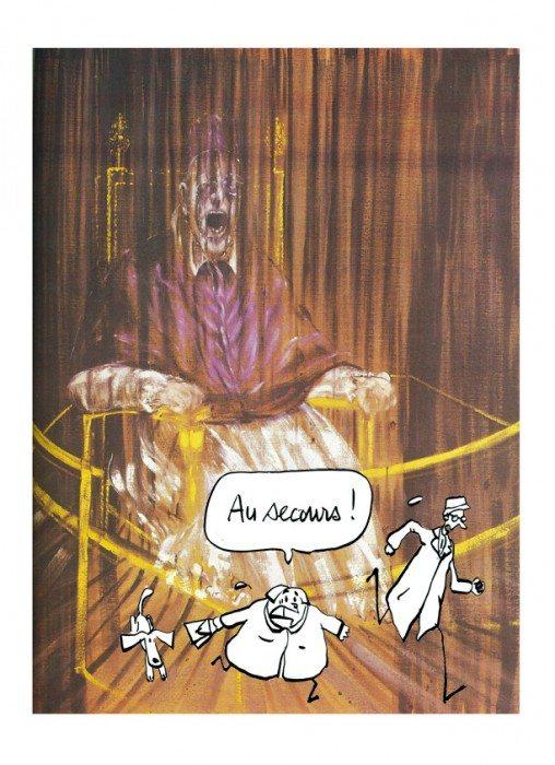 francis bacon, Pape Innocent X, unidivers