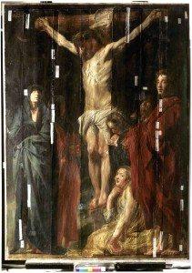 crucifixion, cristallographie, rennes