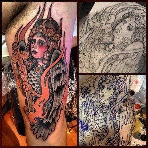 tatouage, rennes, convention, miss atomik, mickael de poissy