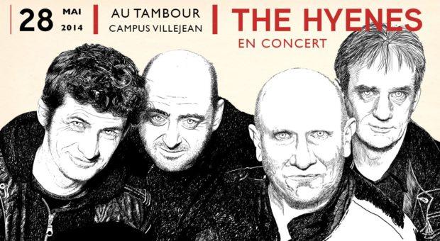 THE HYèNES, rennes, villejean
