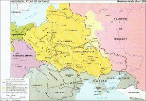 1569 : Un pays divisé en 3 influences.