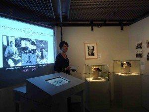 Fabienne Martin-Adam, expo, champs libres, habit, moine