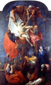 Le Brun, Descente Croix, rennes, musée des beaux-arts