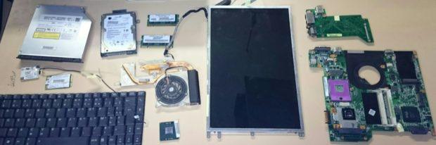 recyclage électronique