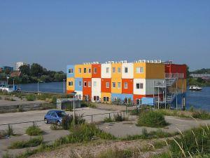 Le container ou conteneur nouvelle pierre de l habitat for Habitat contemporain