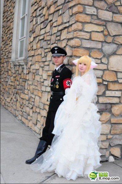 nazi wedding