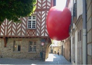 Red Ball, rue des Dames, Rennes