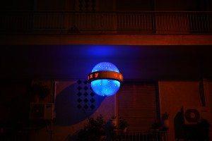 Signal lumineux près de L'Opéra d'Athènes