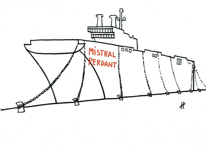 navire mistral
