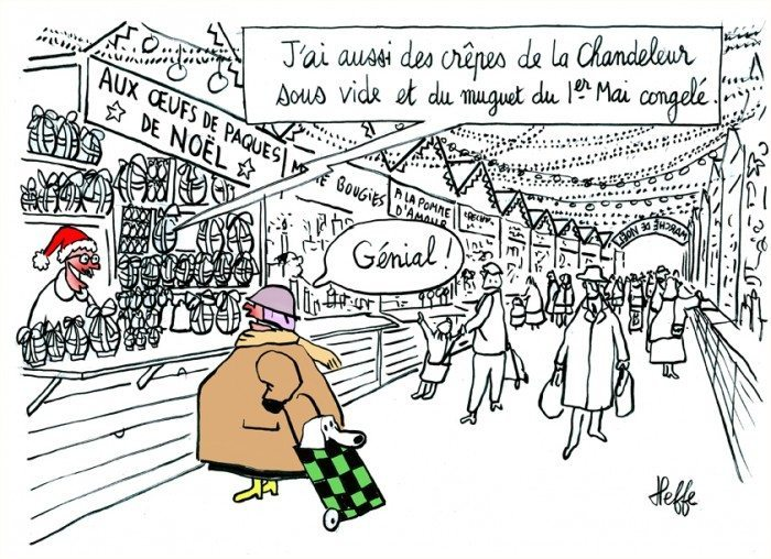marché de noël Bruz