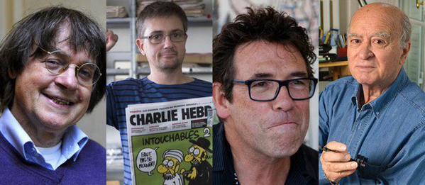 dessinateurs charlie hebdo
