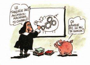Descartes vu par le dessinateur Nono