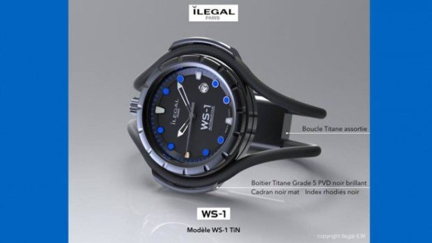 ilegal paris montre