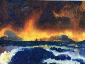 stormy-sea e nolde