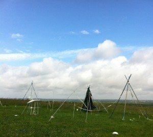 philippe neau sentinelles installation artiste