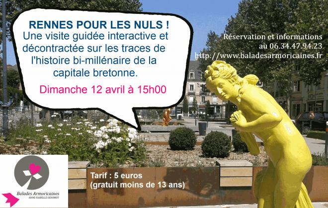 Rennes pour les Nuls Anne-Isabelle Gendrot visite patrimoine