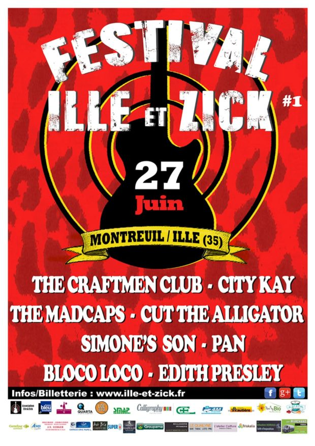 Festival Ille et Zick montreuil sur ille