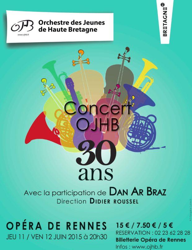 Orchestre des Jeunes de Haute Bretagne 30 ans !
