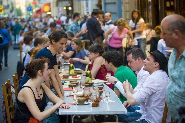 Crêpe Noz rue de Montparnasse