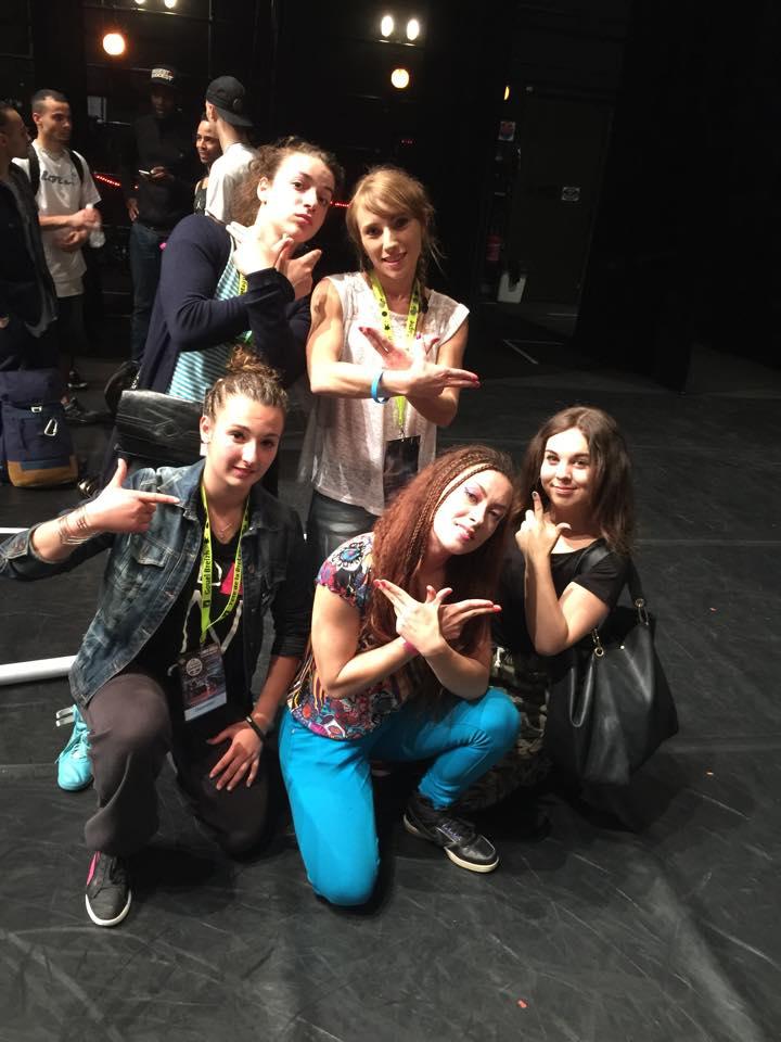 Breakdance Walkyries