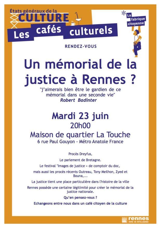 Un mémorial de la justice