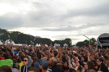 La foule devant Thylacine