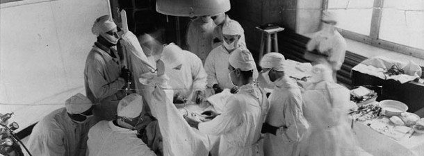 Bethune operation 1933 royal victoria hospital montreal