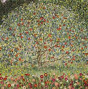 apfelbaum 1912 gustav klimt