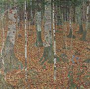 buchenwald birkenwald 1903 klimt