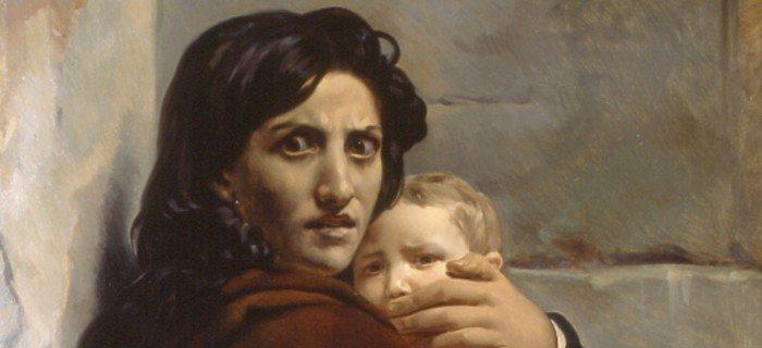 Musée de la vie romantique : Exposition Visages de l'effroi