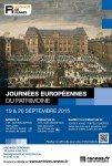 Journées du patrimoine Archives de Rennes 2015