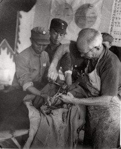 bethune-Dr. Bai Qiuen-operation-1938-model-hospital-songyankou
