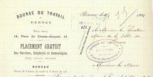 bourse du travail 1904 maison du peuple rennes