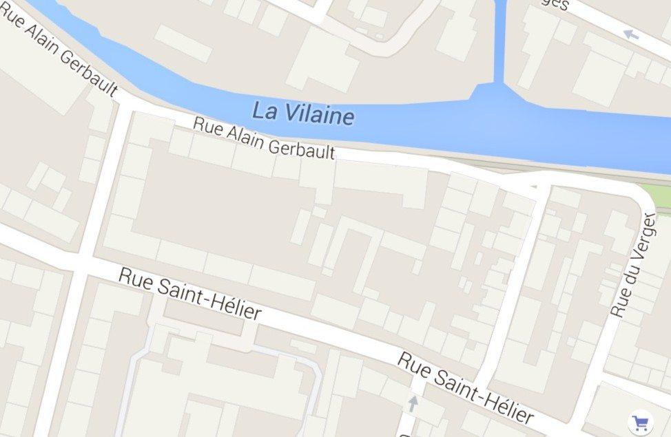 Rue saint-bélier Rennes