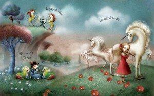 un ballet de licornes