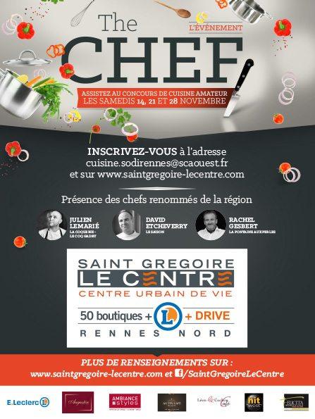 Saint Grégoire Le Centre Concours de cuisine amateur The Chef !