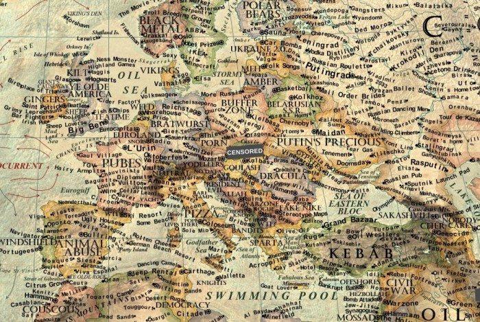 curious map