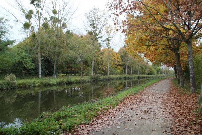 bords du canal rennes