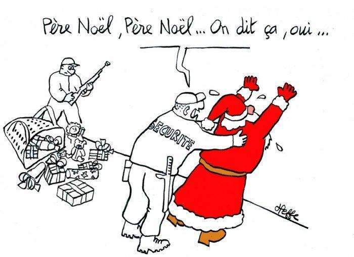 Père Noël terroriste