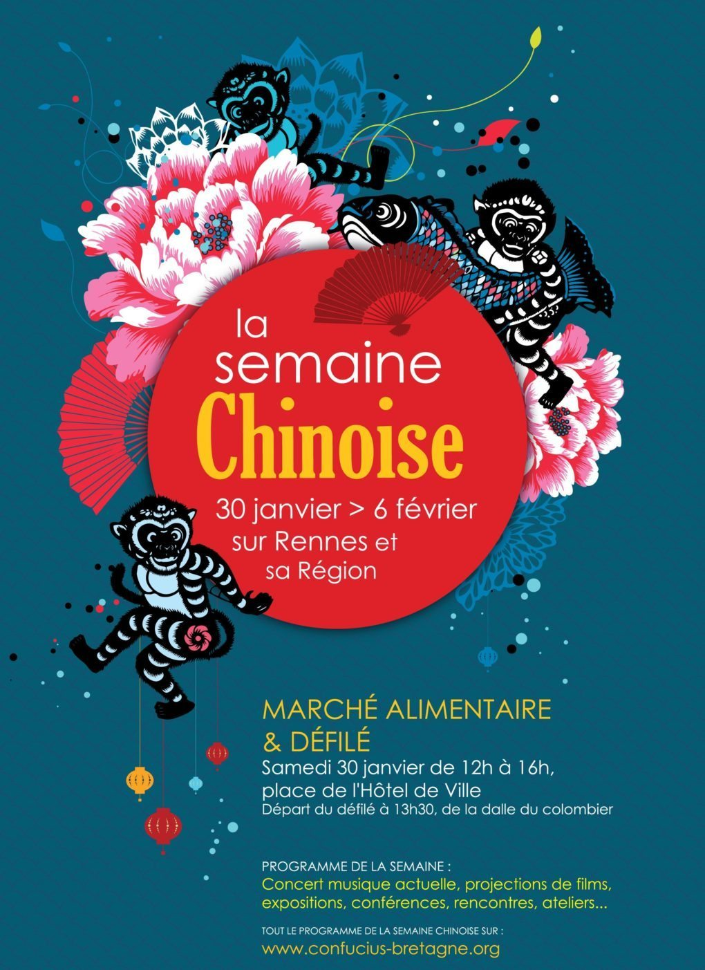 Rennes Semaine chinoise