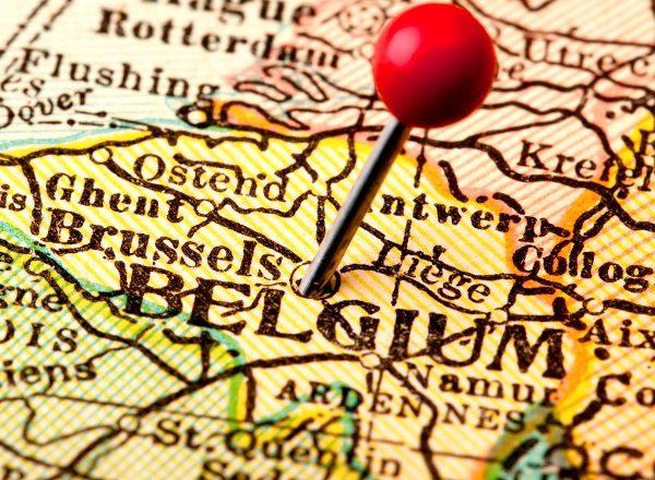 carte belgique, bruxelles