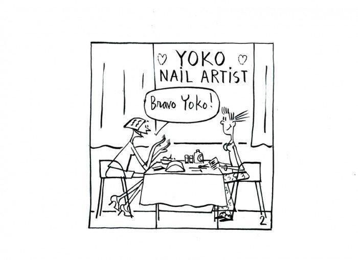artiste yoko ono